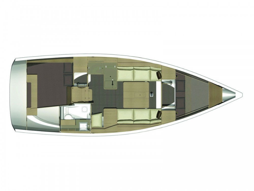 Location bateau Furnari pas cher Dufour 360 Grand Large