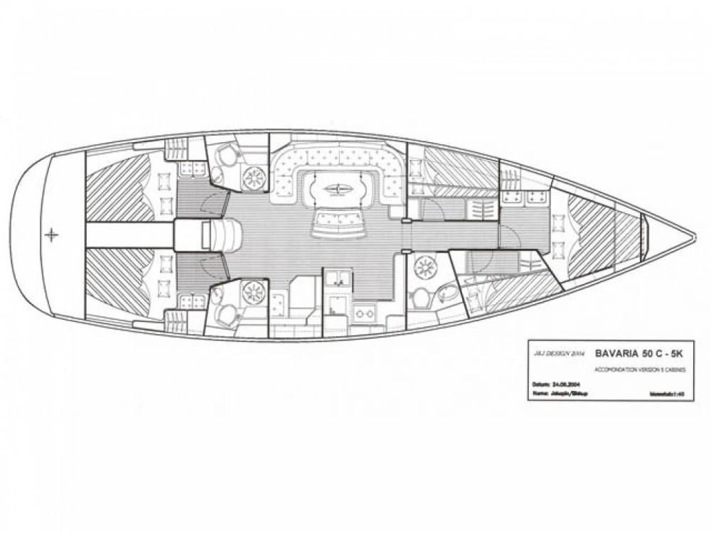 Location Voilier à Marina di Portisco - Bavaria Cruiser 50