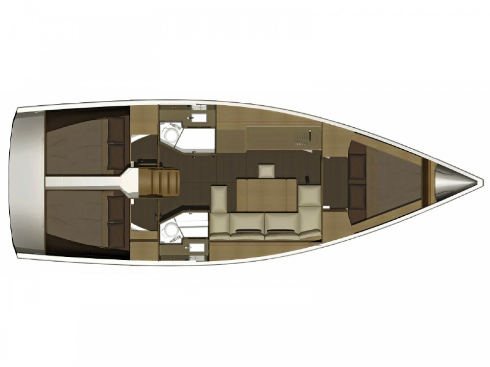 Location bateau Marina di Portisco pas cher Dufour 382 Grand Large