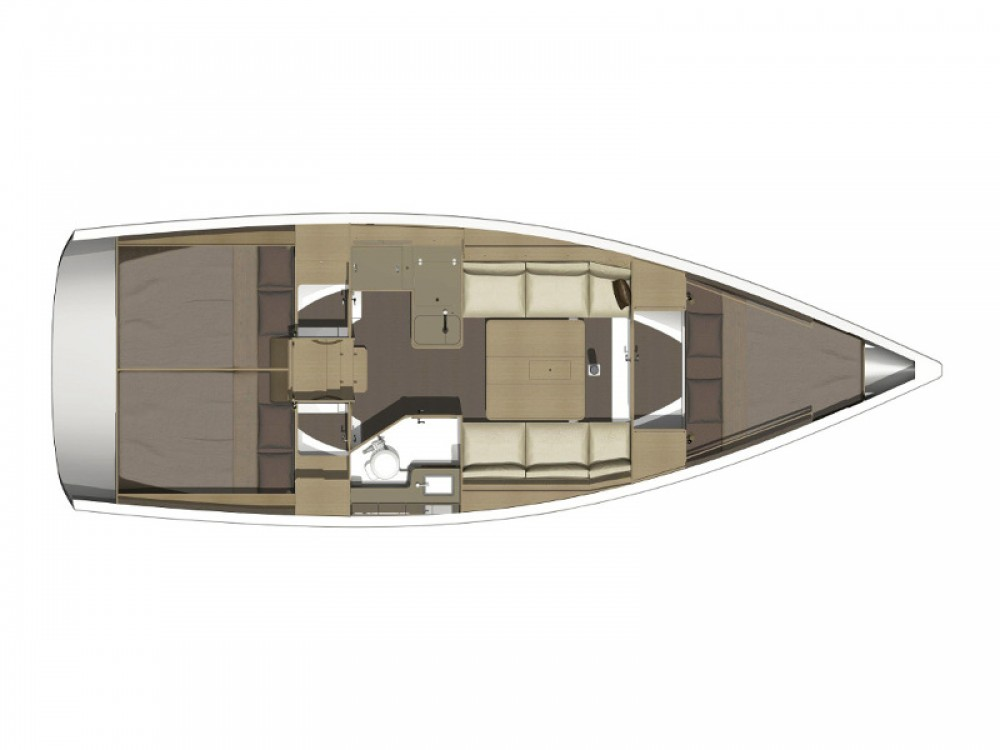 Rental Sailboat in Marina di Portisco - Dufour Dufour 360 GL