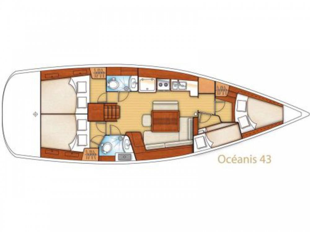 Bénéteau Oceanis 43 entre particuliers et professionnel à Μαρίνα Αλίμου