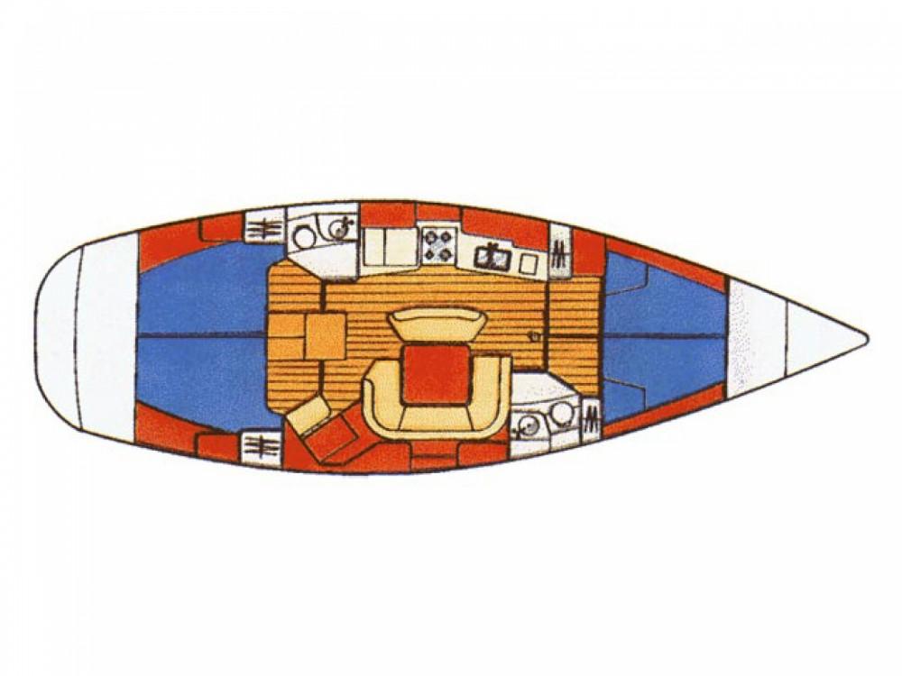 Jeanneau Sun Odyssey 45.2 entre particuliers et professionnel à Μαρίνα Αλίμου