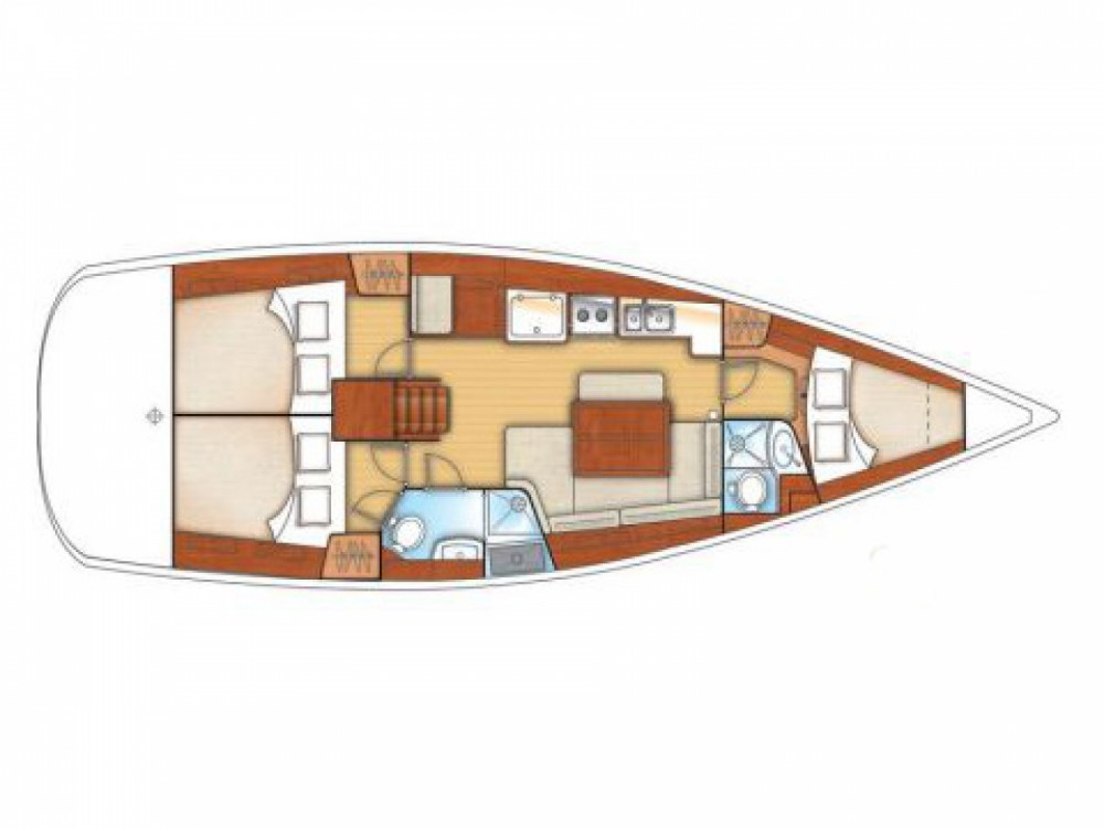 Louez un Bénéteau Oceanis 40 à Μαρίνα Αλίμου