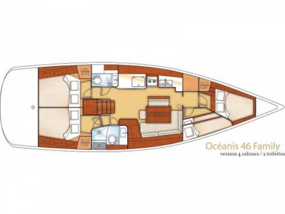 Location Voilier à Marina de Alimos - Bénéteau Oceanis 46