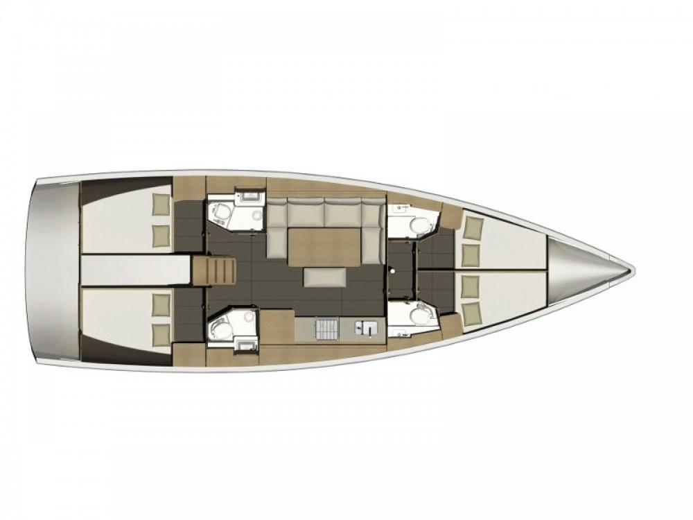 Location bateau Leucade pas cher Dufour 460 Grand Large