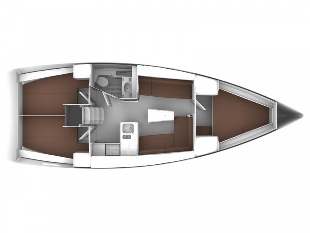 Location bateau Leucade pas cher Cruiser 36