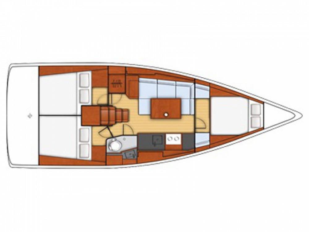 Location bateau Bénéteau Beneteau - Oceanis 38 à Marina de Alimos sur Samboat