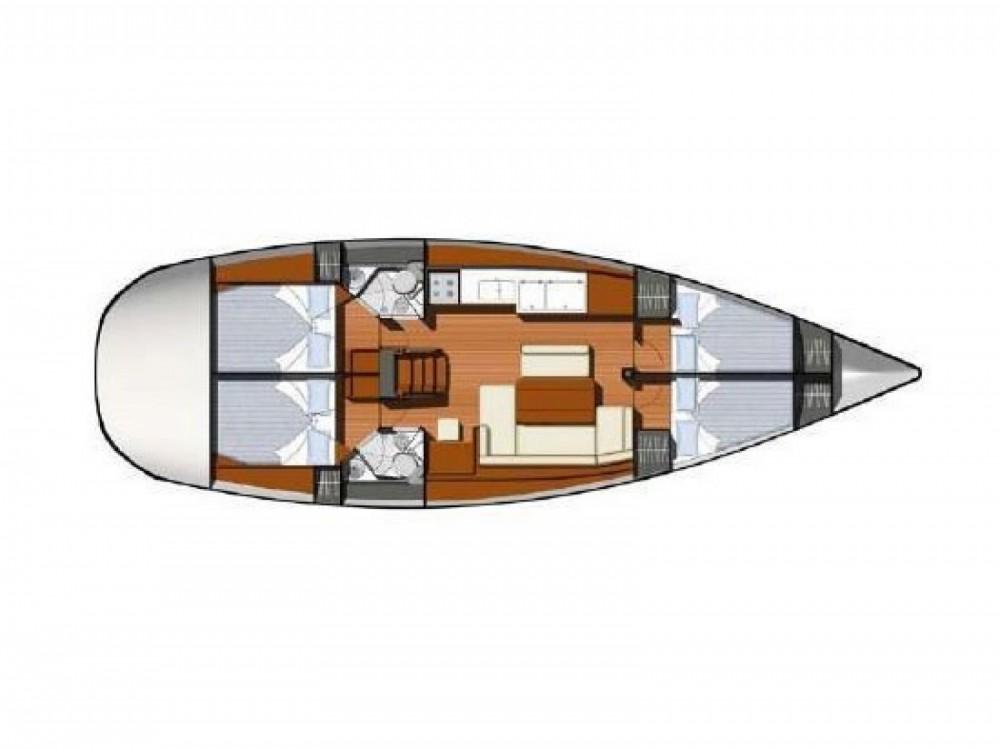 Jeanneau Sun Odyssey 44 entre particuliers et professionnel à Marina de Alimos