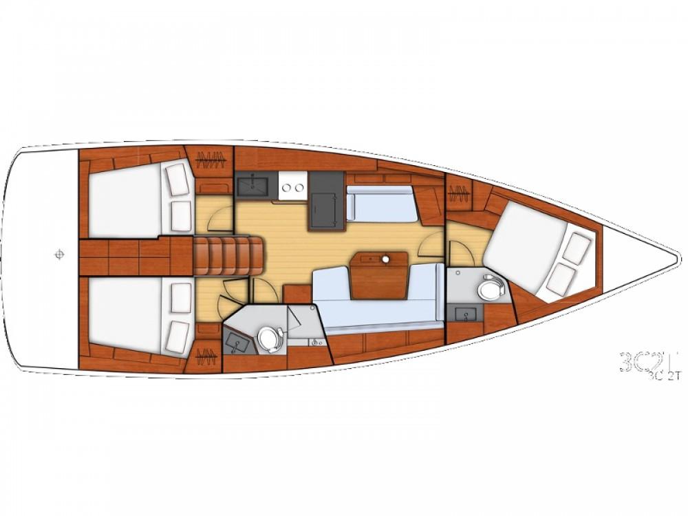Location bateau Bénéteau Oceanis 41.1 à Μαρίνα Αλίμου sur Samboat