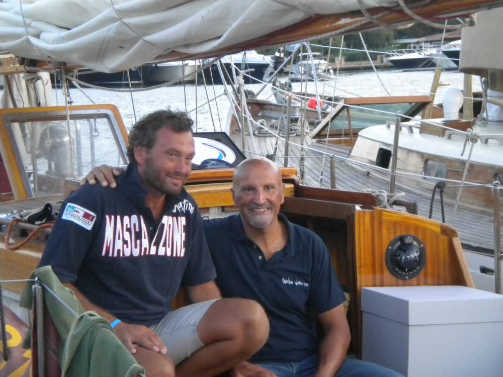 Sparkman And Stephens Cutter between personal and professional Porto-Vecchio