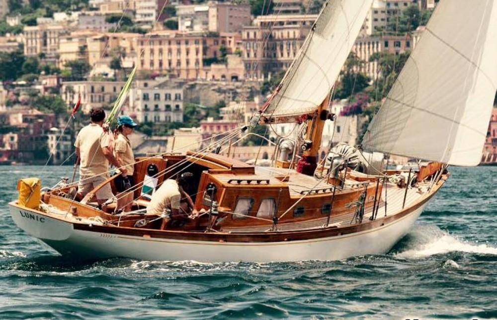 Rental yacht Porto-Vecchio - Sparkman And Stephens Cutter on SamBoat