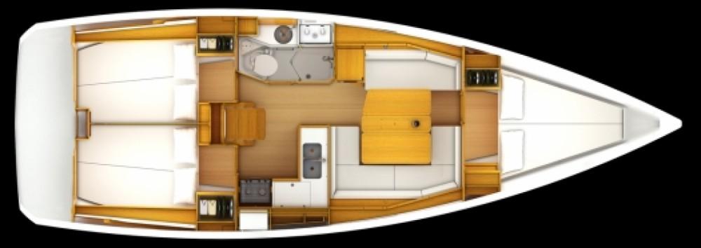 Location bateau Sant Antoni de Portmany pas cher JEANNEAU SO 379