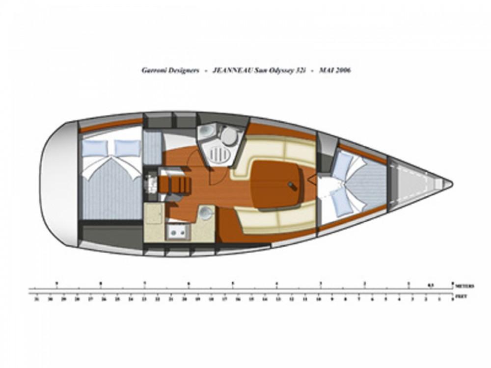 Location yacht à Sant Antoni de Portmany - Jeanneau JEANNEAU SO 32i sur SamBoat