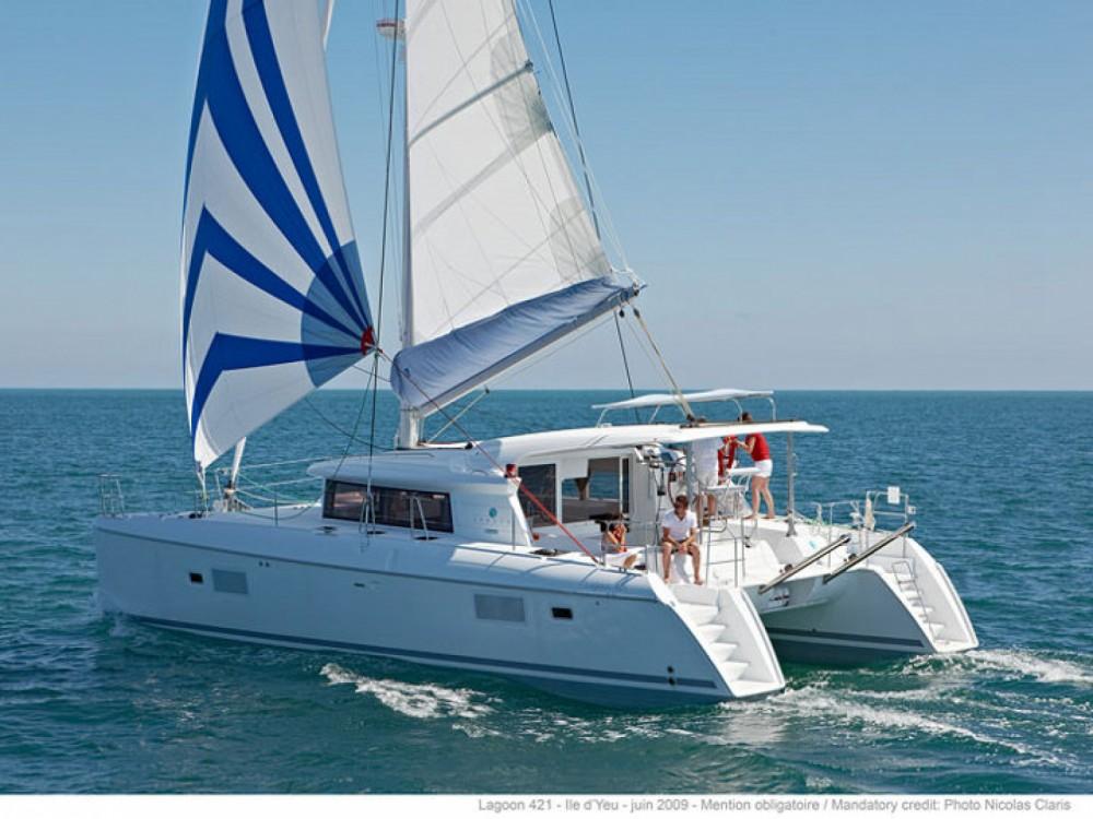 Location Catamaran à Sant Antoni de Portmany - Lagoon Lagoon 421