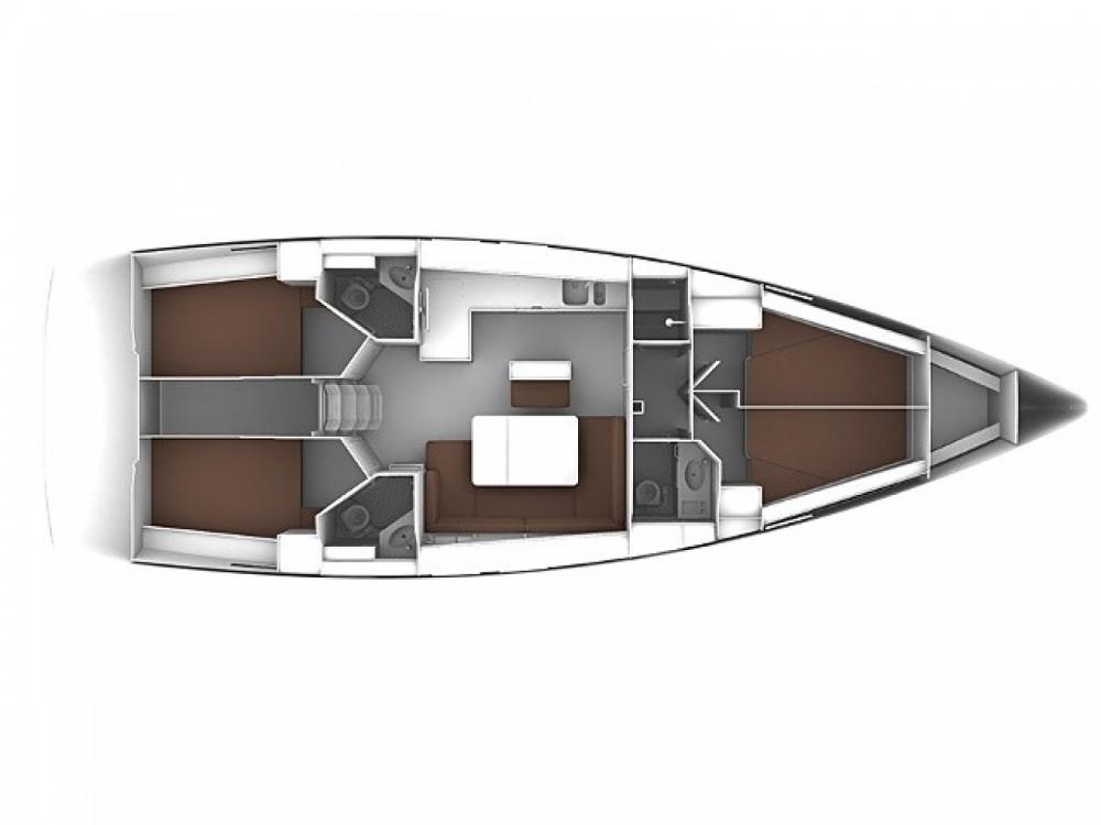 Location bateau Bavaria Cruiser 46 à Nettuno sur Samboat
