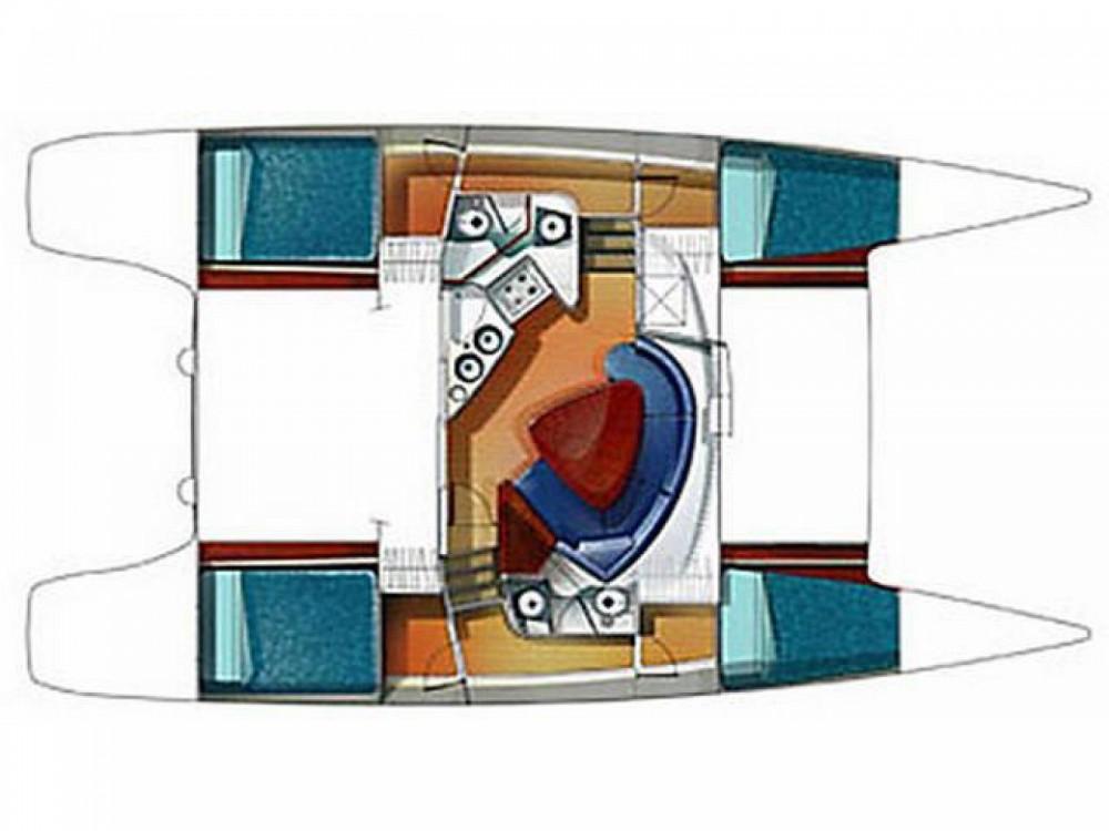 Location Catamaran à Nettuno - Fountaine Pajot Lavezzi 40