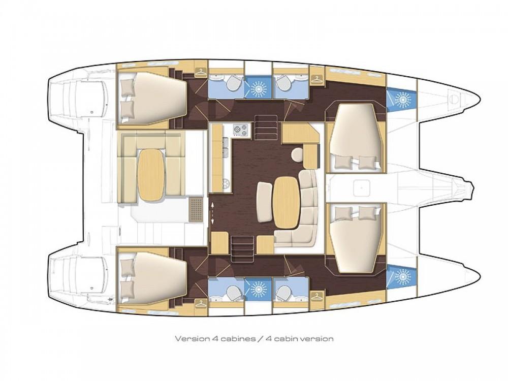Rental Catamaran in Nettuno - Lagoon Lagoon 421
