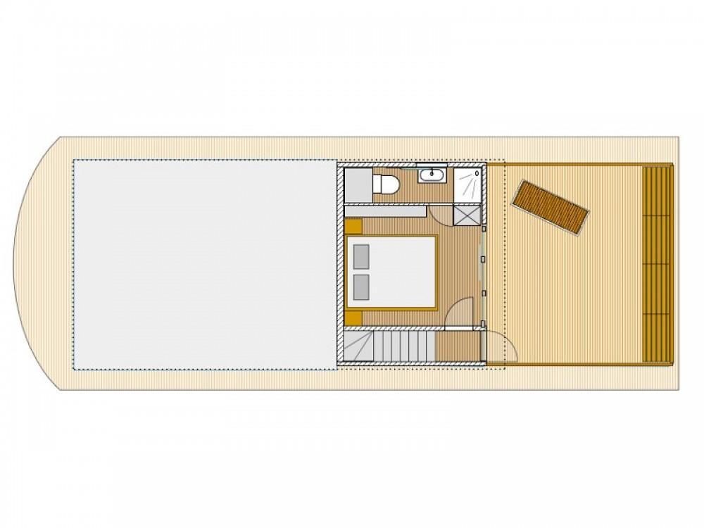 Location Bateau à moteur à Sundhagen -  House Yacht Devin 1.5