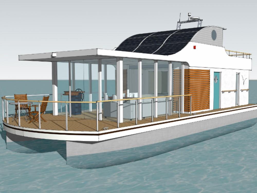 Location bateau Sundhagen pas cher House Yacht Devin 1.5