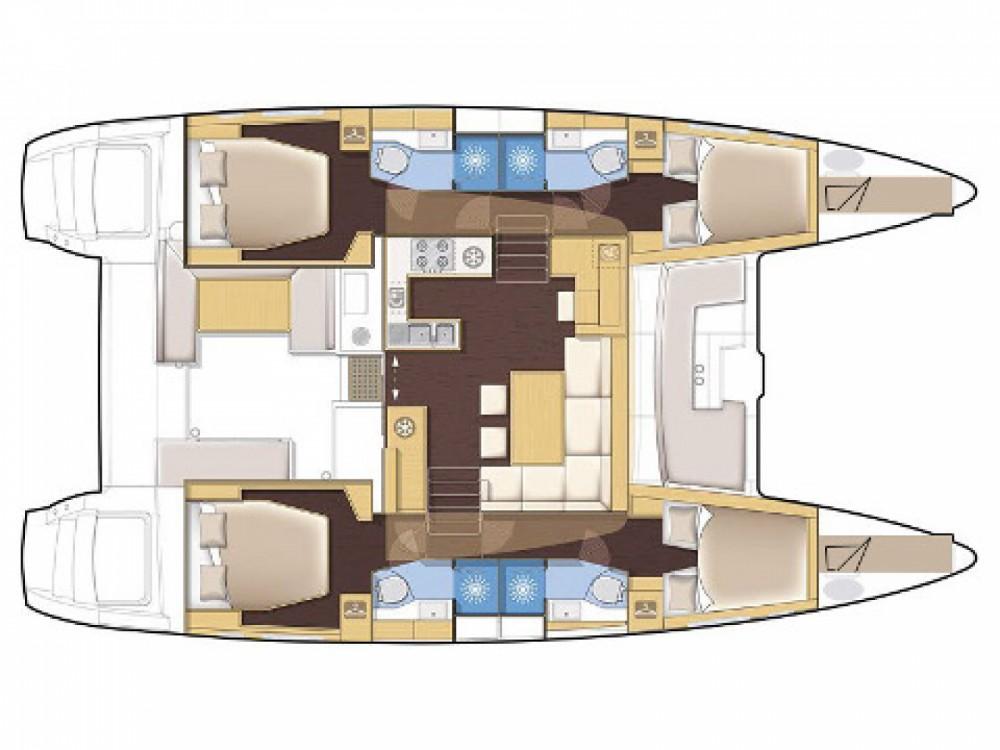 Lagoon Lagoon 450 entre particuliers et professionnel à Victoria