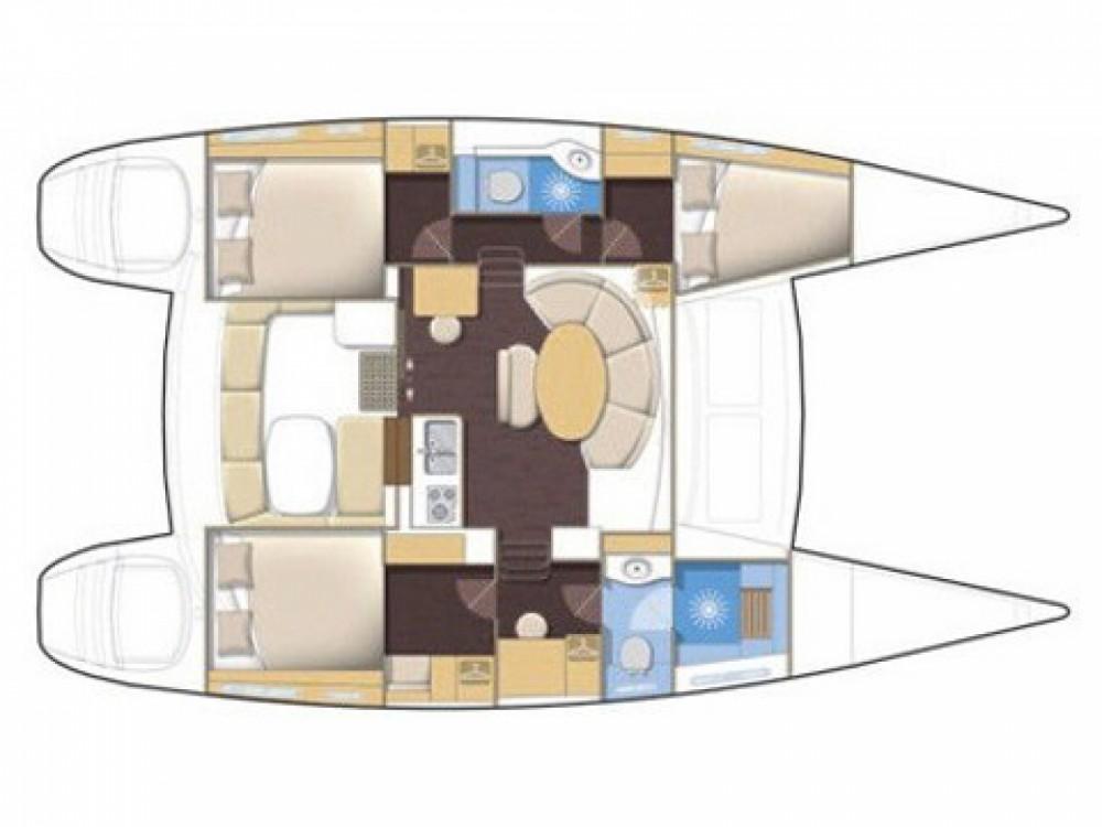 Location yacht à Victoria - Lagoon Lagoon 380 sur SamBoat