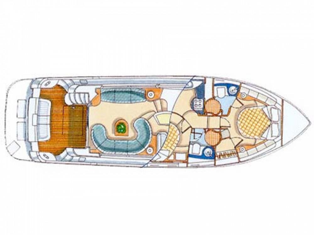 Louer Bateau à moteur avec ou sans skipper Azimut à Μαρίνα Αλίμου