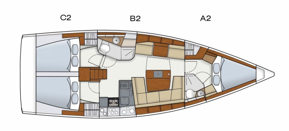 Location yacht à Medulin - Hanse Hanse 415 sur SamBoat