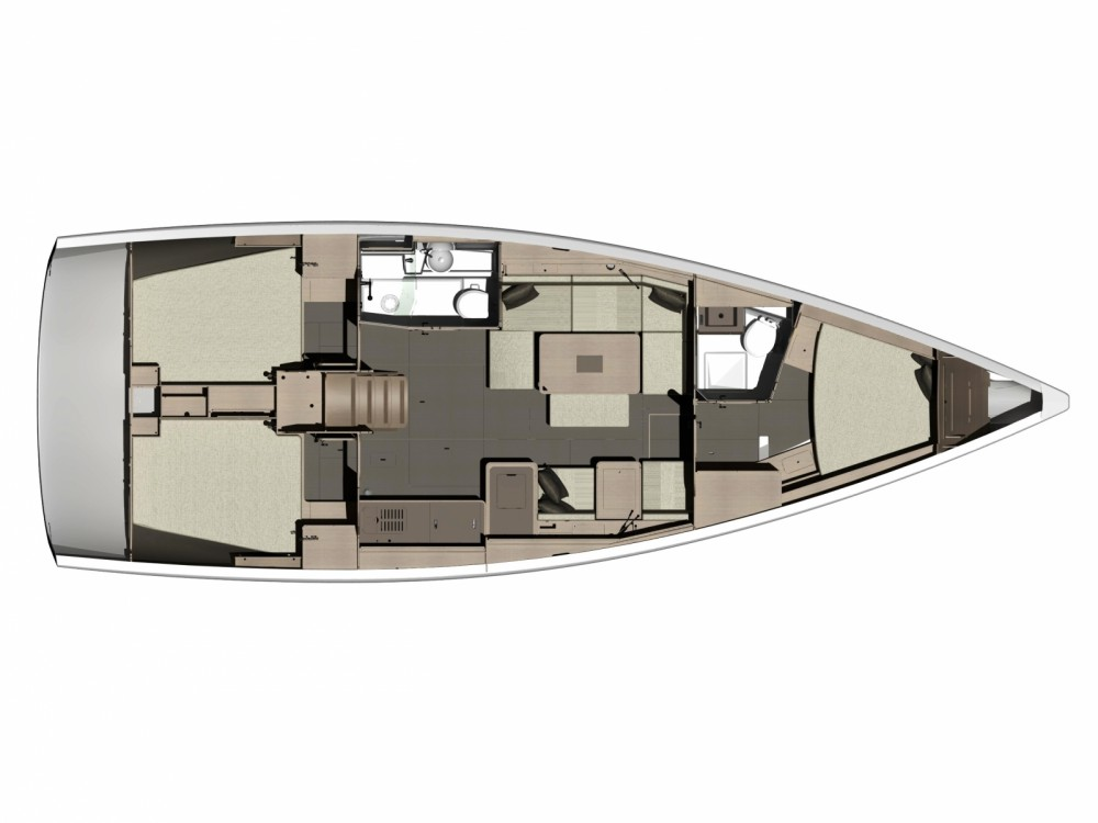 Location bateau Dufour Dufour 410 Grand Large à Marina Medulin sur Samboat