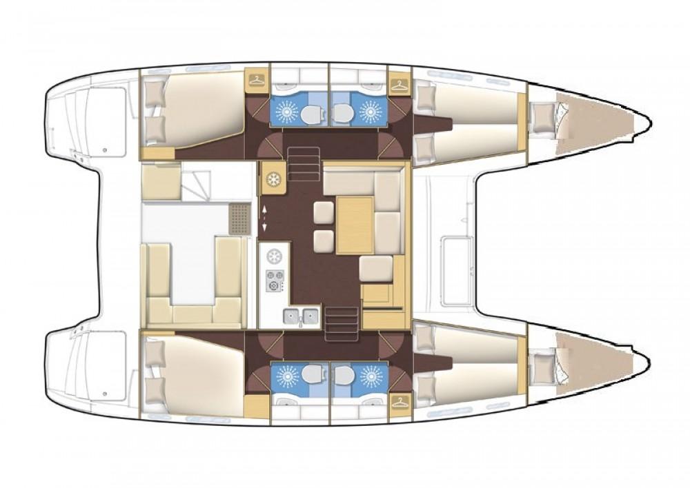 Catamaran à louer à Marina Medulin au meilleur prix
