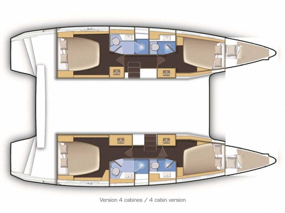 Location yacht à Marina Medulin - Lagoon Lagoon 42 sur SamBoat