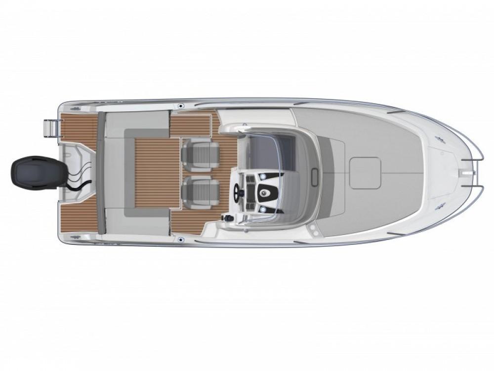 Louer Bateau à moteur avec ou sans skipper Jeanneau à Marina Medulin