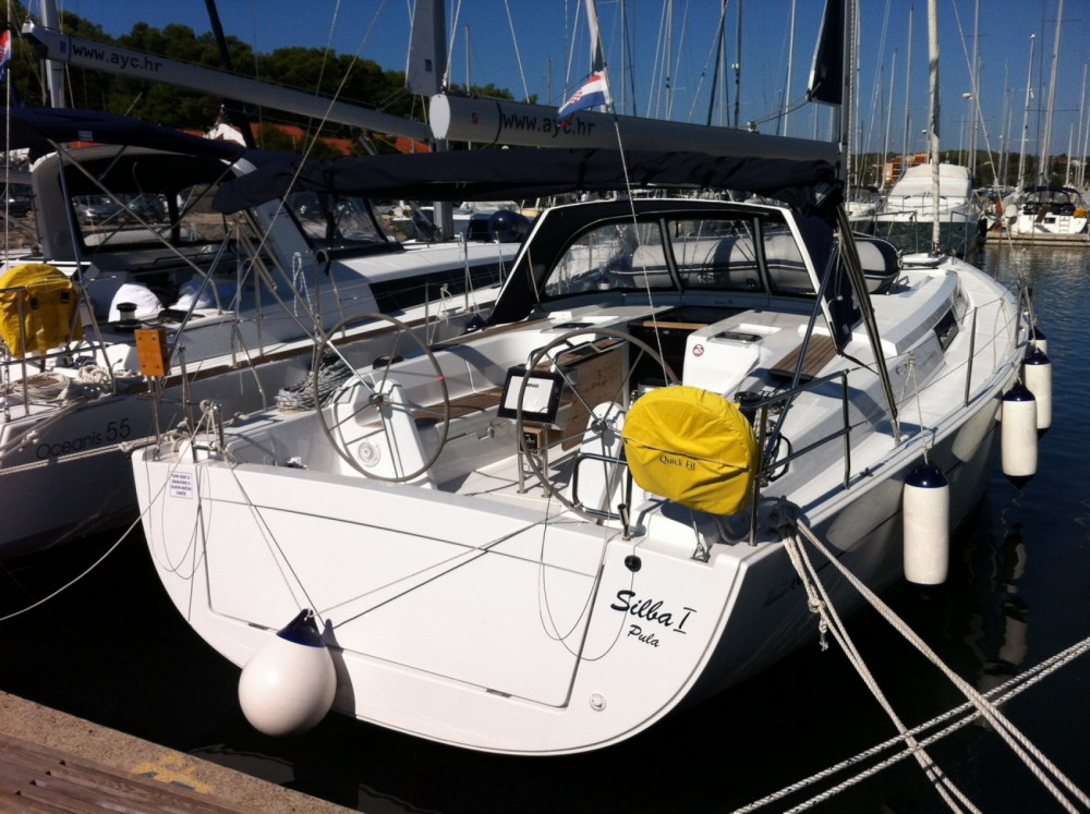 Hanse Hanse 445 entre particuliers et professionnel à ACI Marina Dubrovnik