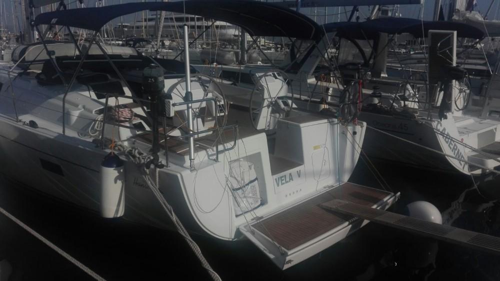 Location yacht à Marina Kaštela - Hanse Hanse 455 sur SamBoat