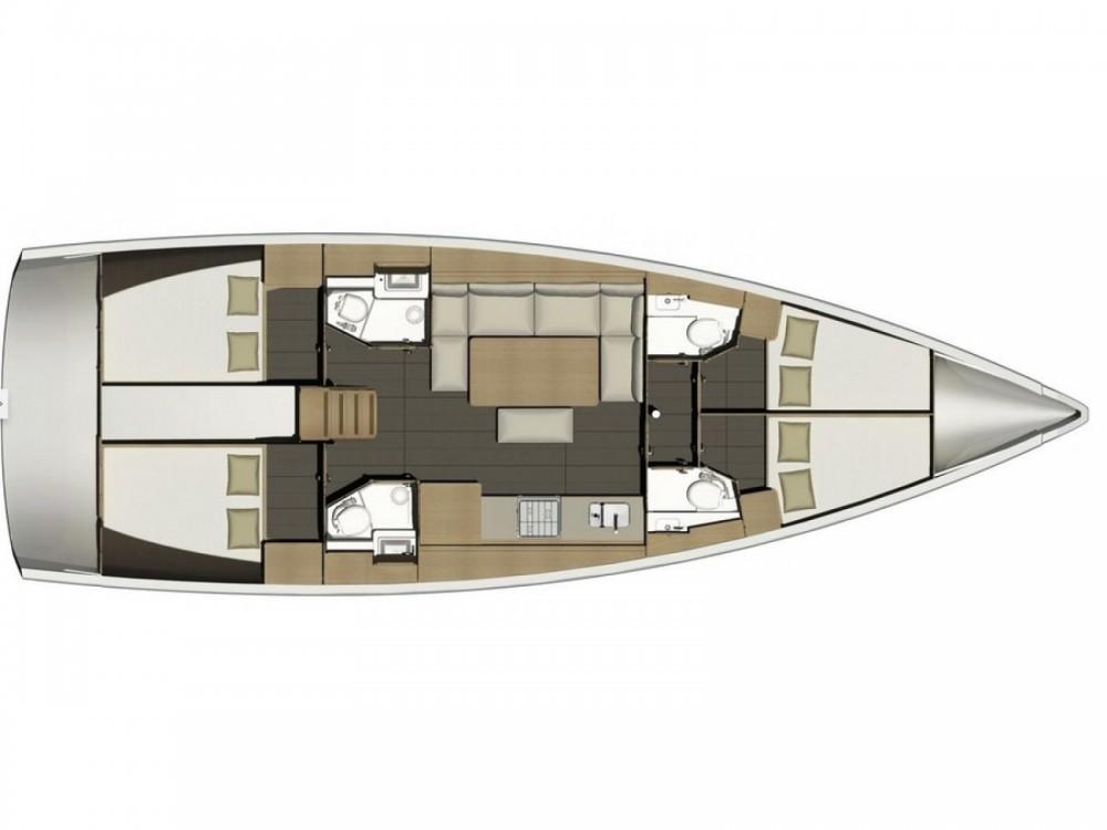 Rental yacht Marina Kaštela - Dufour Dufour 460 Grand Large on SamBoat