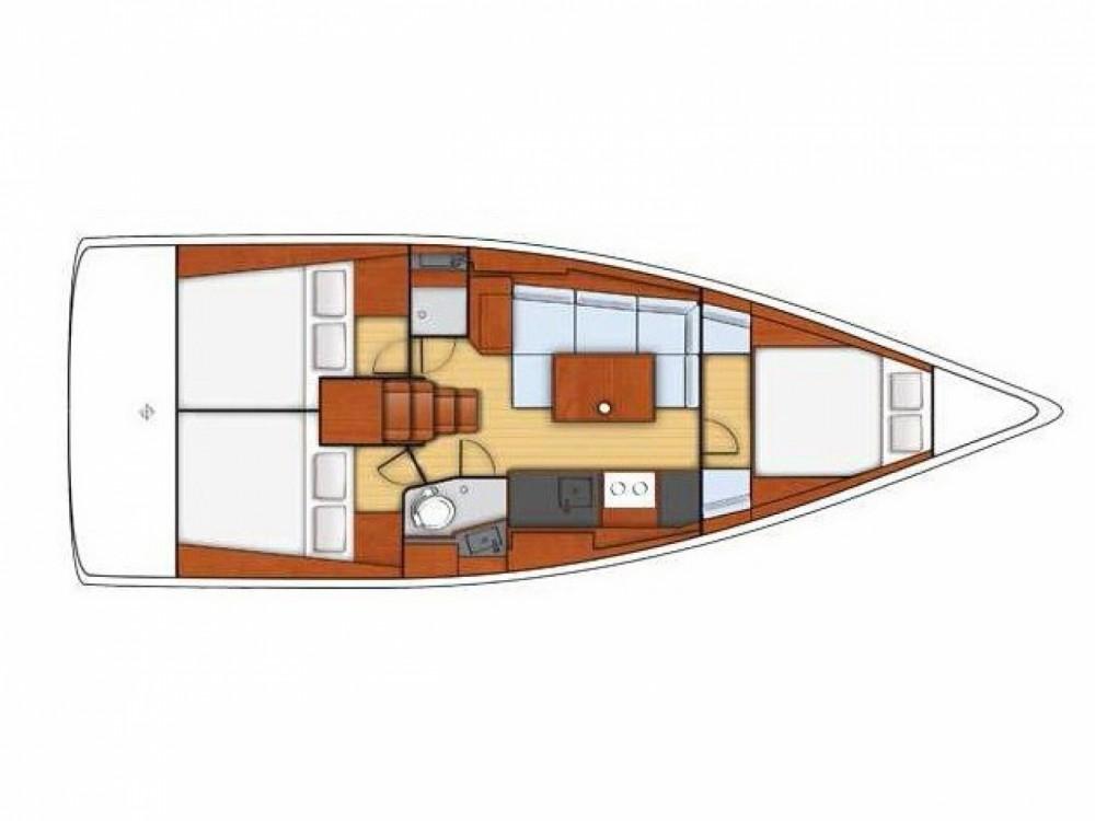 Location bateau Bénéteau Oceanis 38 à Marina Medulin sur Samboat