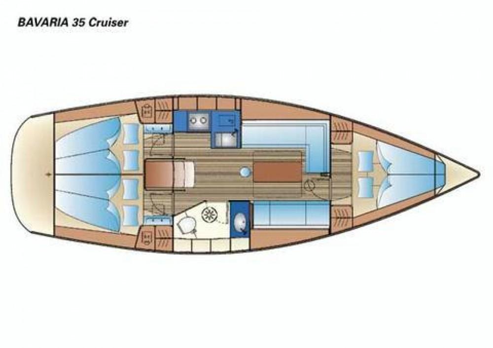 Bavaria Cruiser 34 entre particuliers et professionnel à Morningside marina