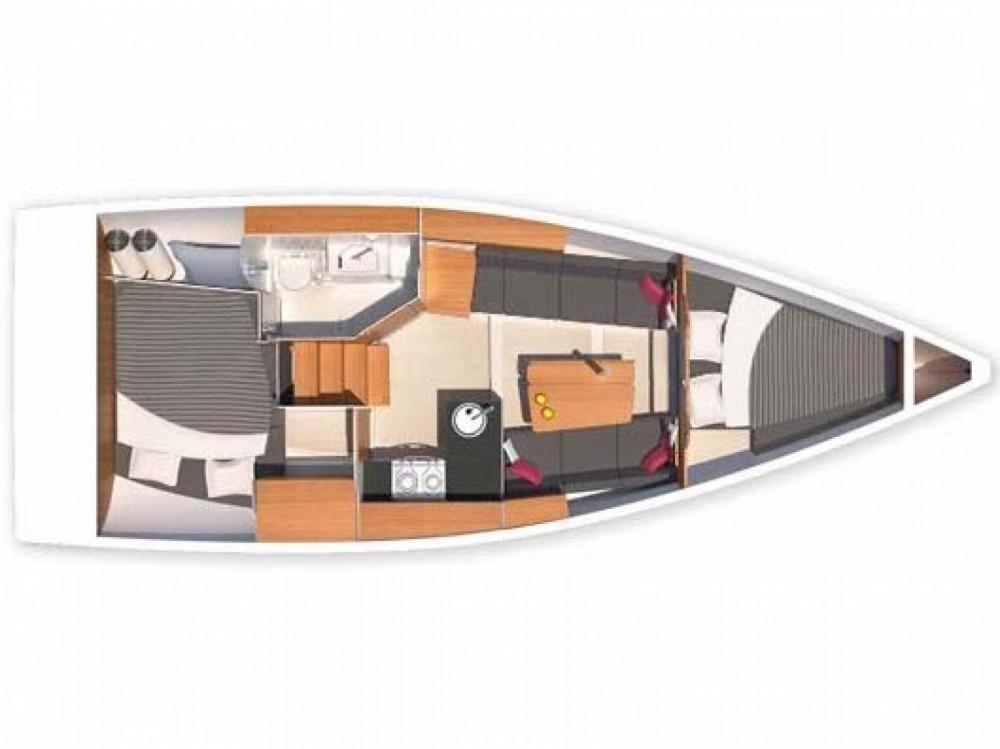 Rental yacht Morningside marina - Hanse Hanse 315 on SamBoat