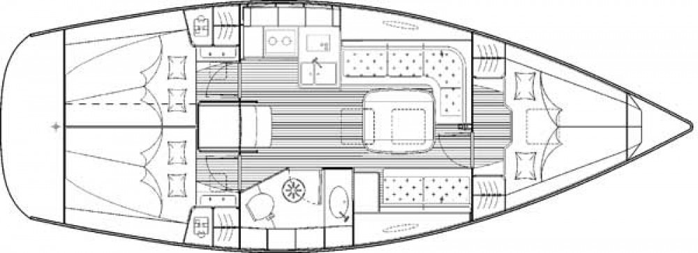 Location yacht à Morningside marina - Bavaria Bavaria 35 Cruiser sur SamBoat