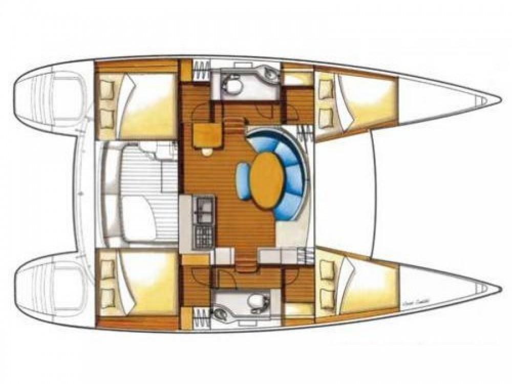 Location Catamaran à Krk - Lagoon Lagoon 380 S2