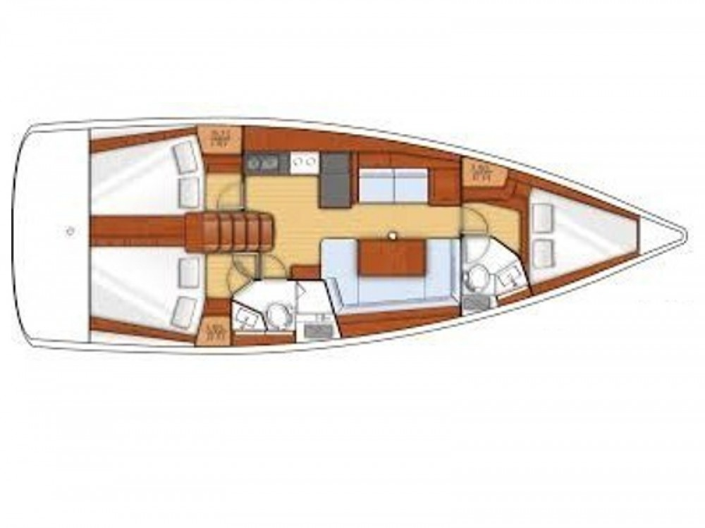 Location yacht à Palma de Majorque - Bénéteau Oceanis 41 sur SamBoat
