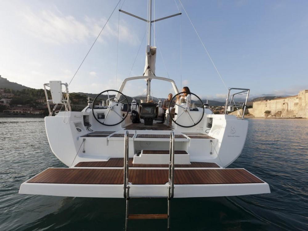 Location bateau Palma de Majorque pas cher Oceanis 41