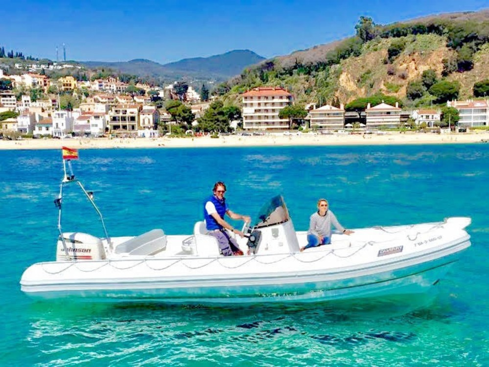 Boat rental Duarry Cormoran 730 Sport in Sant Andreu de Llavaneres on Samboat