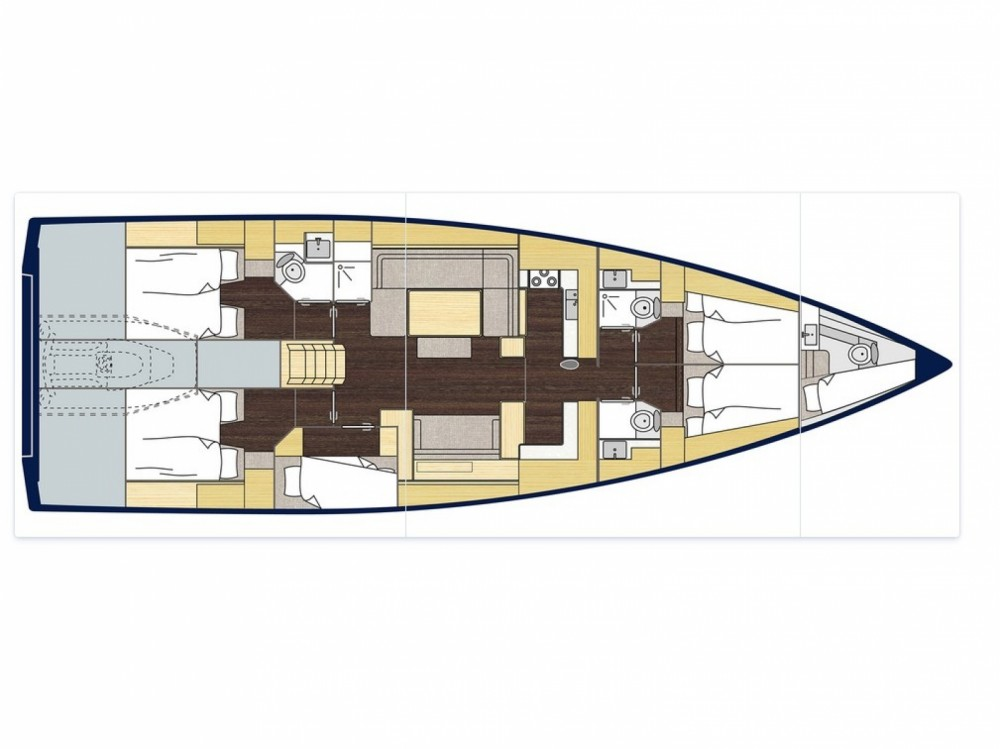 Sailboat for rent Alimos Marina at the best price