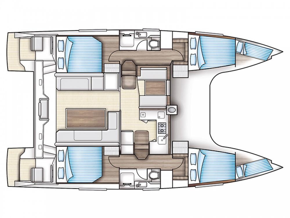 Location yacht à Marina de Alimos - Nautitech Nautitech Open 40 sur SamBoat
