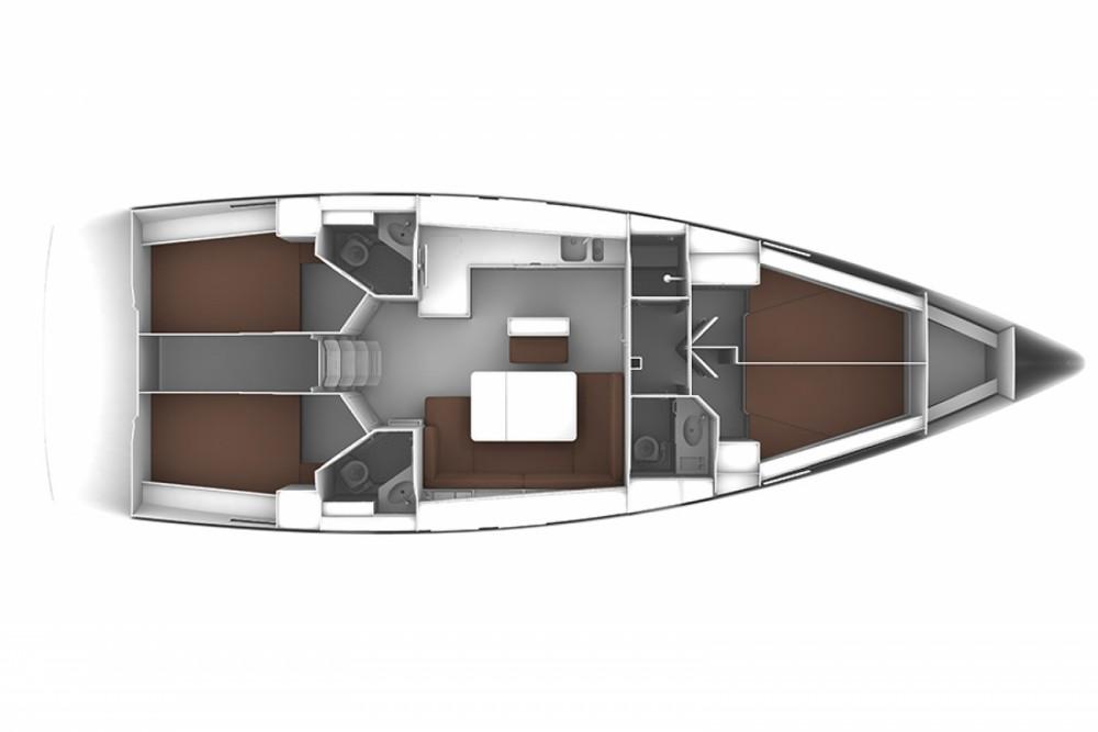 Location bateau Laurion pas cher Bavaria Cruiser 46