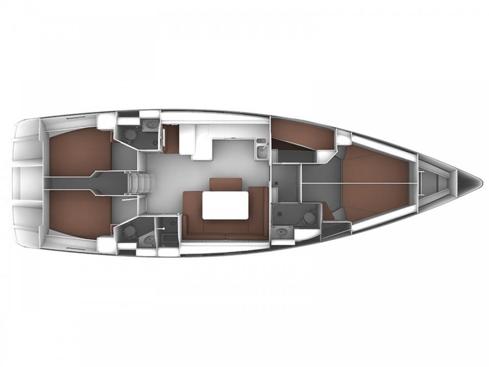 Bavaria Cruiser 51 entre particuliers et professionnel à Rhodes