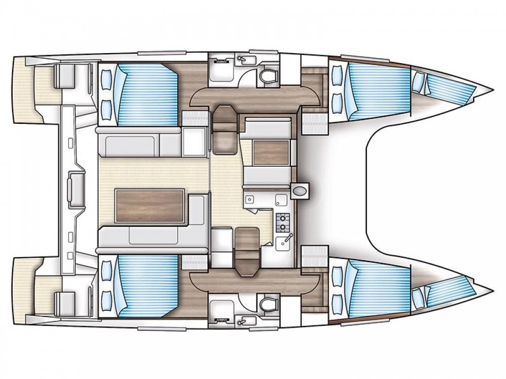 Location yacht à Rhodes - Nautitech Nautitech Open 40 sur SamBoat