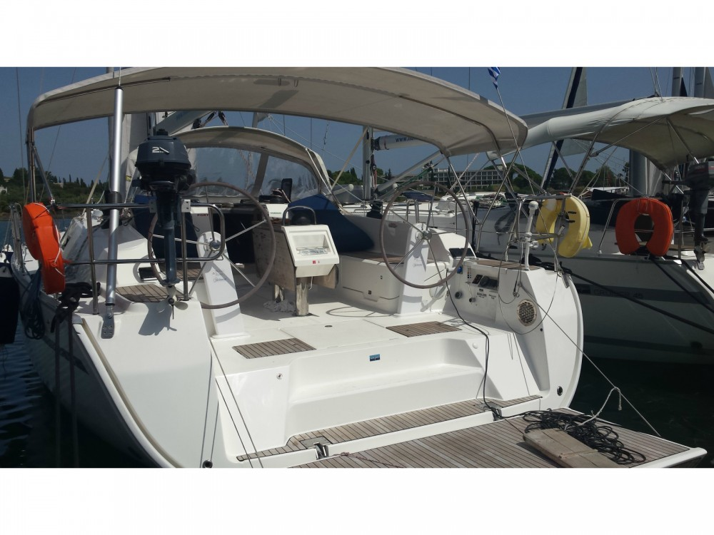 Bavaria Cruiser 46 between personal and professional Rhodes