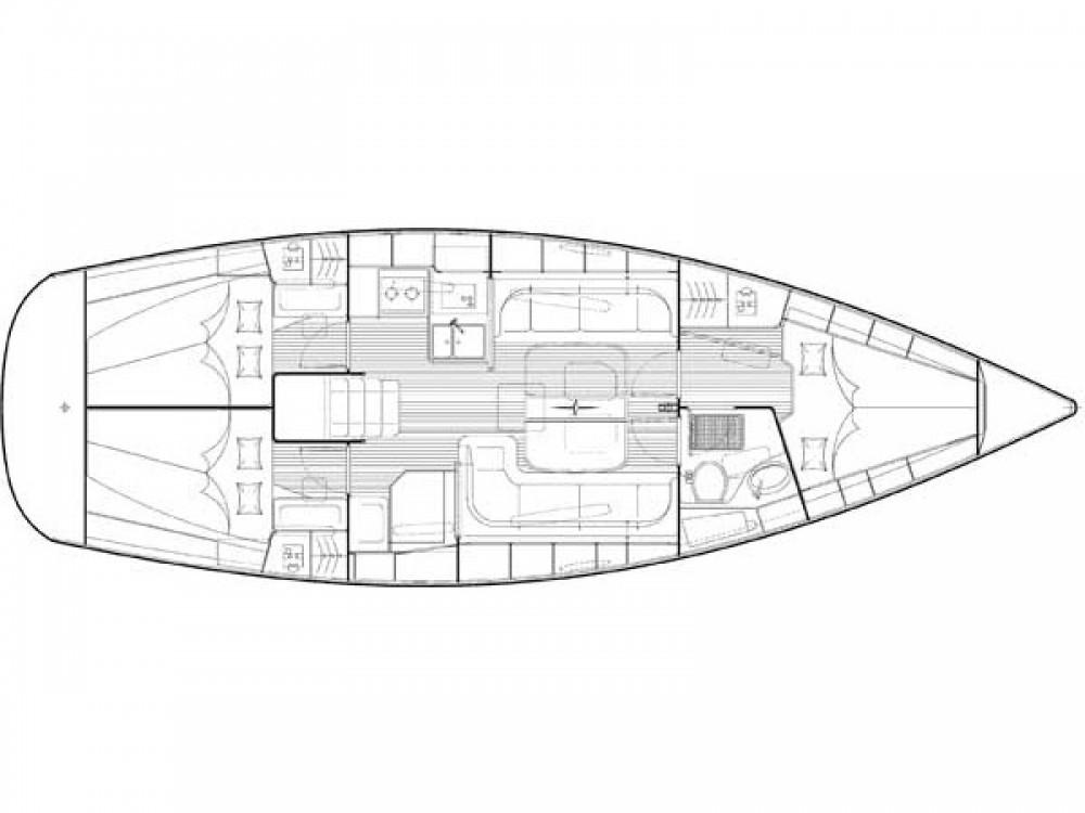 Bavaria Cruiser 38 entre particuliers et professionnel à Laurion