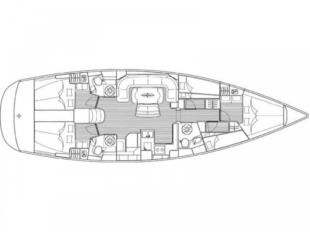 Location yacht à Μαρίνα Αλίμου - Bavaria Cruiser 50 sur SamBoat